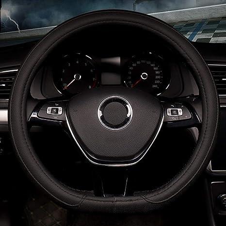 Pahajim Coprivolante per Auto in Morbida Pelle Universale 38 cm Traspirante Antiscivolo per Manicotto per RuotaProtettiva per Curve Sportive Resistente