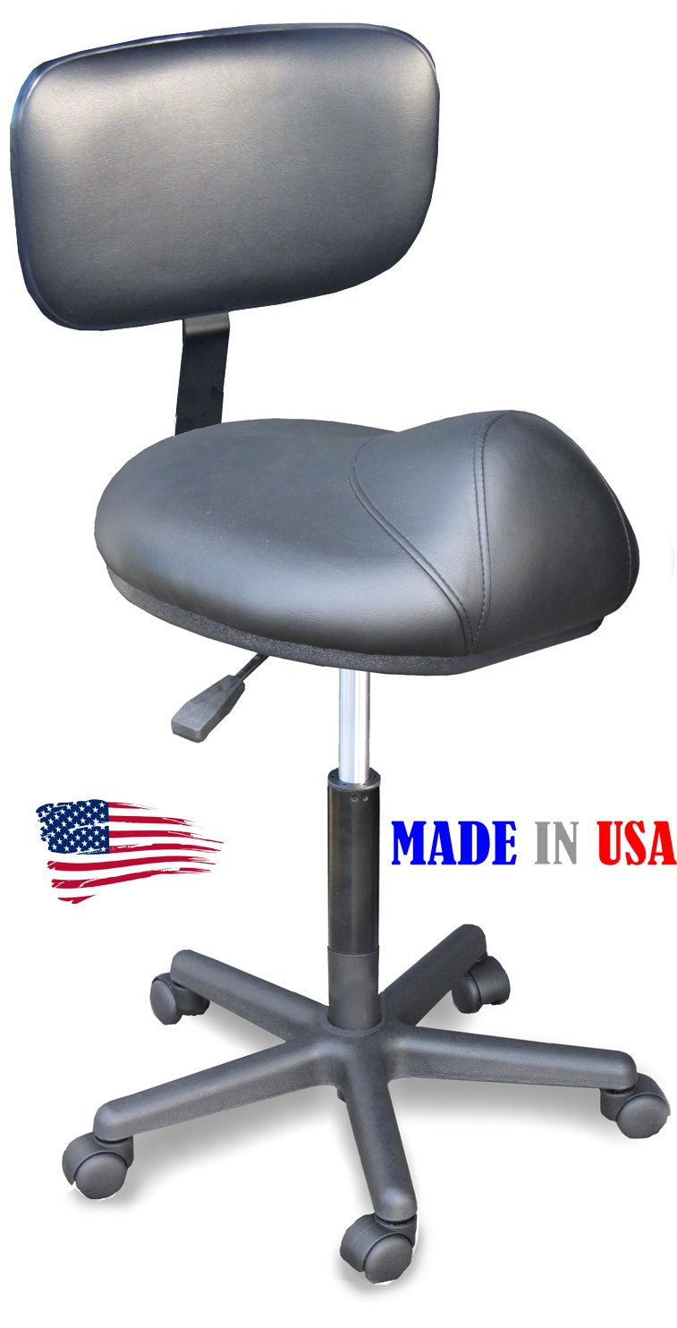 Saddle Cutting Stool Amp Black Round Cutting Stool With Back
