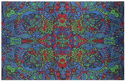 Sunshine Joy 3D Psychedlelic Art Tapestry Tablecloth Beach Sheet 60×90 Inches – Liquid L