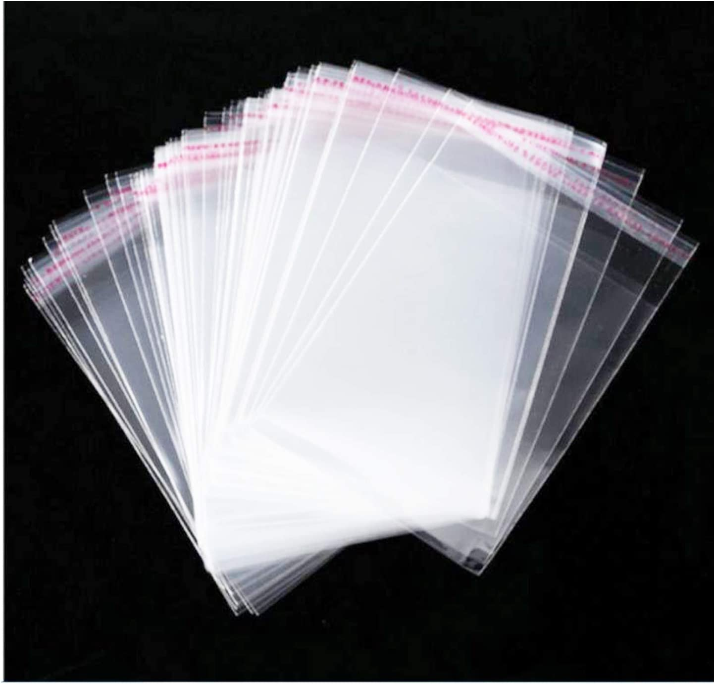 4x6 Clear Resealable Cellophane Bags Good for Bakery, Candle, Soap, Cookie (300 Pcs): Arts, Crafts & Sewing