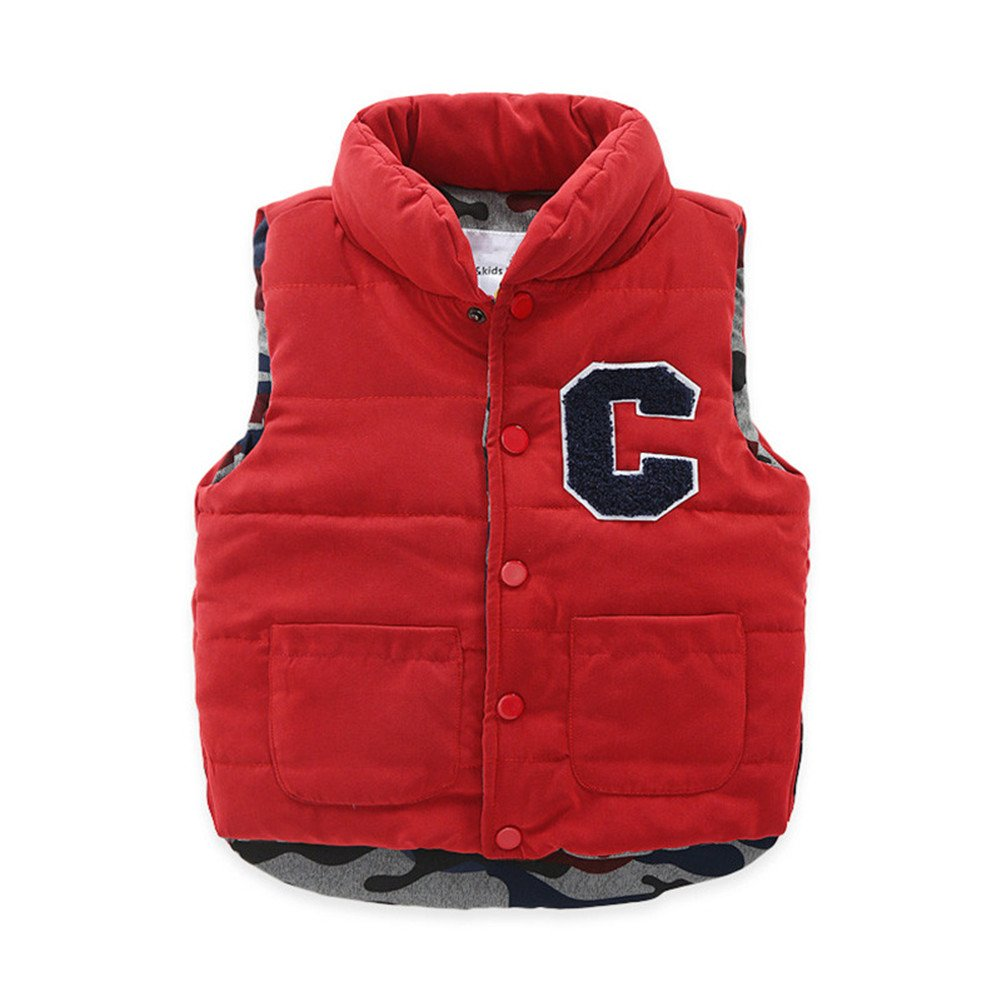 Mud Kingdom Boys Turtleneck Winter Vest Warm Jacket SS0333