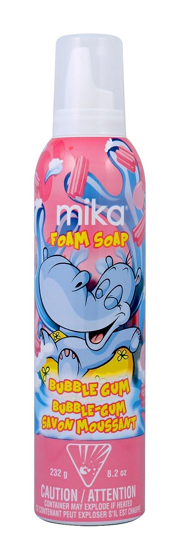 mika Bubble Gum Foam Soap, 8.2 Oz 14001