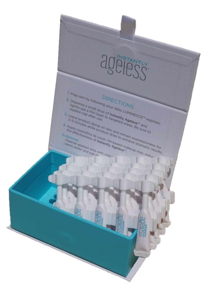 Instantly Ageless Facelift In A Box- Anti Wrinkle Microcream (1 Box x 25 Vials)