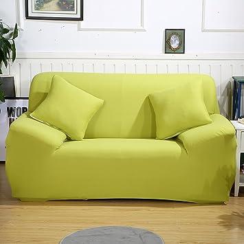 Amazon Com Stretch Loveseat Cover Sofa Slipcover Plain Color