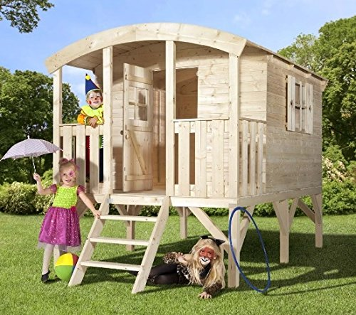 Wooden Outdoor Playhouse Kit (Allwood Playhouse Scout)