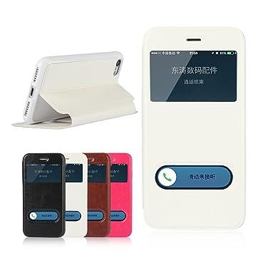5411289b83 iPhone8 ケース アイフォン8ケース iPhone 7 ケース 手帳型 窓付き 【iCoverCase】 PU