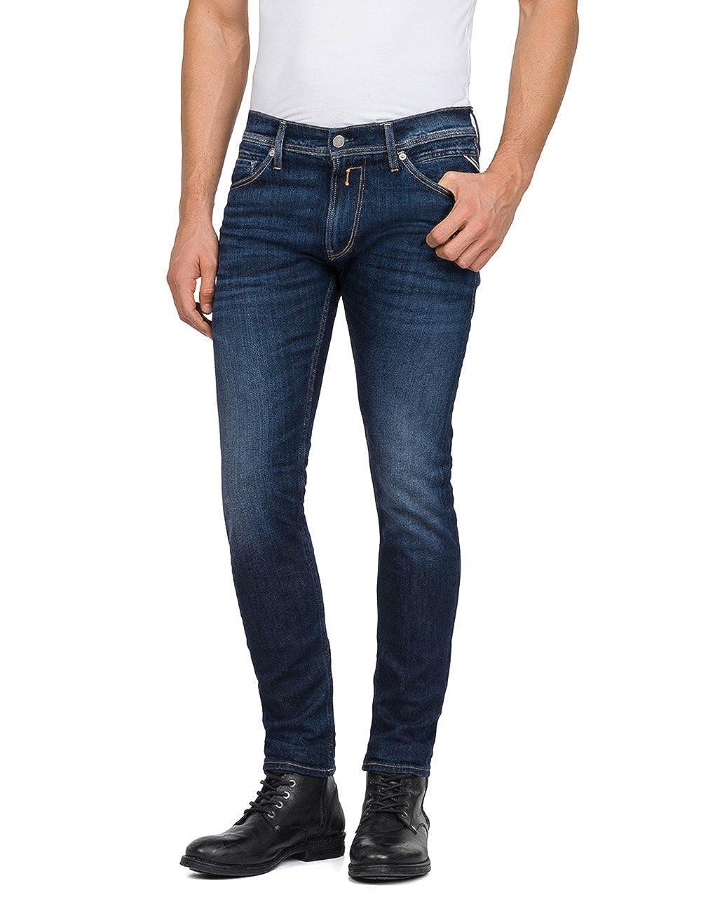 TALLA 31W / 32L. REPLAY MA931 .000.11B 764-Jeans Hombre