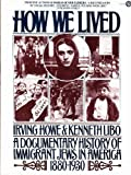 How We Lived:  A Documentary History of Immigrant Jews in America  1880-1930 (A Plume book)