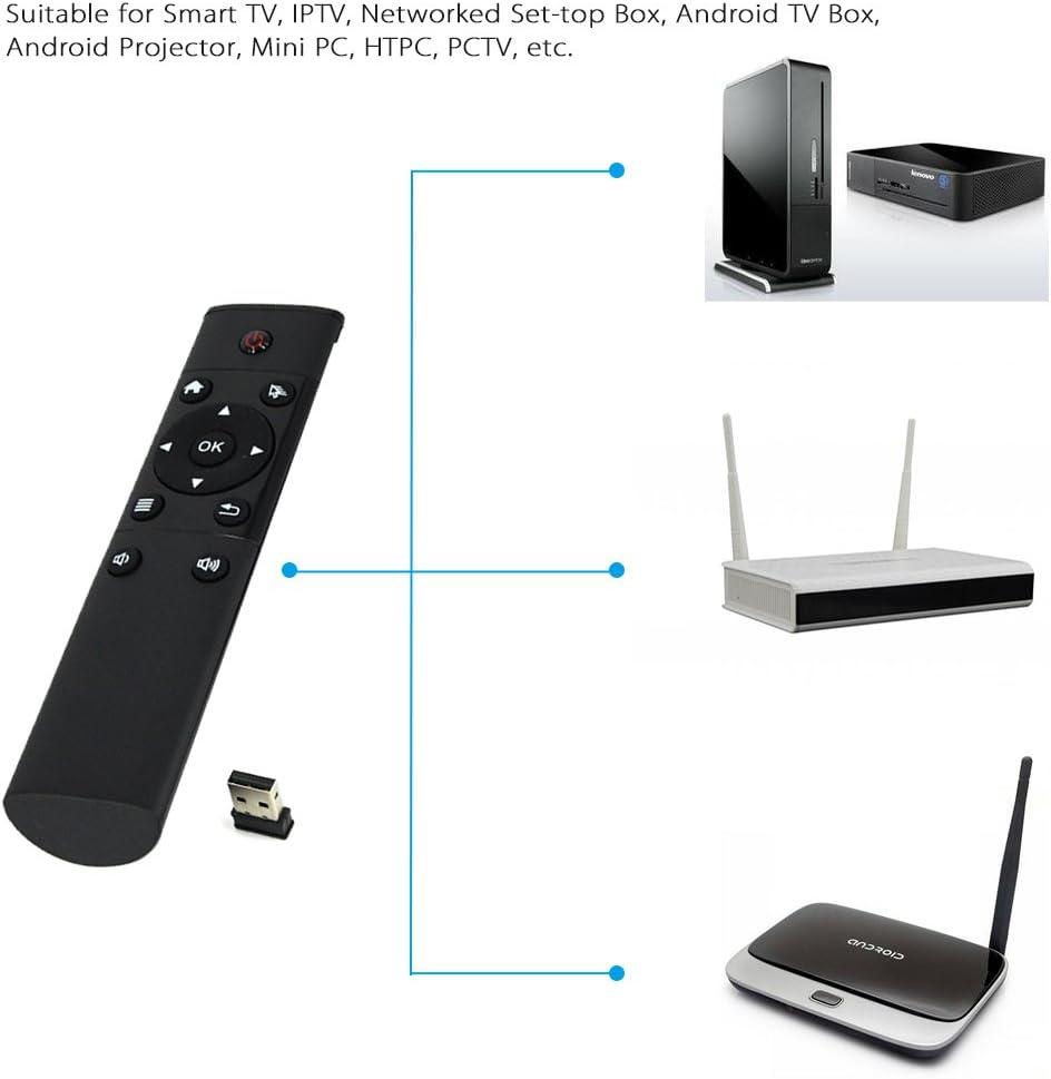 Andoer FM4 Magic Mando a Distancia Inalámbrico 2.4G Controlador Remoto para Android TV Box Smart TV TV-Dongle: Amazon.es: Electrónica