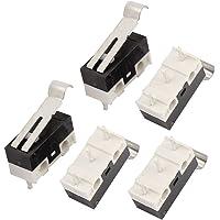 sourcing map 5pcs Micro Interruptor Miniatura 3 terminales