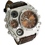 Oulm 1349 Men's Watch Quartz wirst watches Four Sub-dials