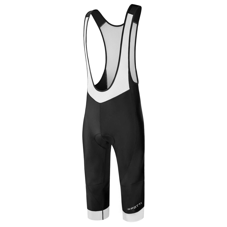 Spotti Men's Cycling Bib Shorts, 3D Padded Bike Bib Tights Breathable Bicycle Pants - Comfortable & Better Fit by Spotti