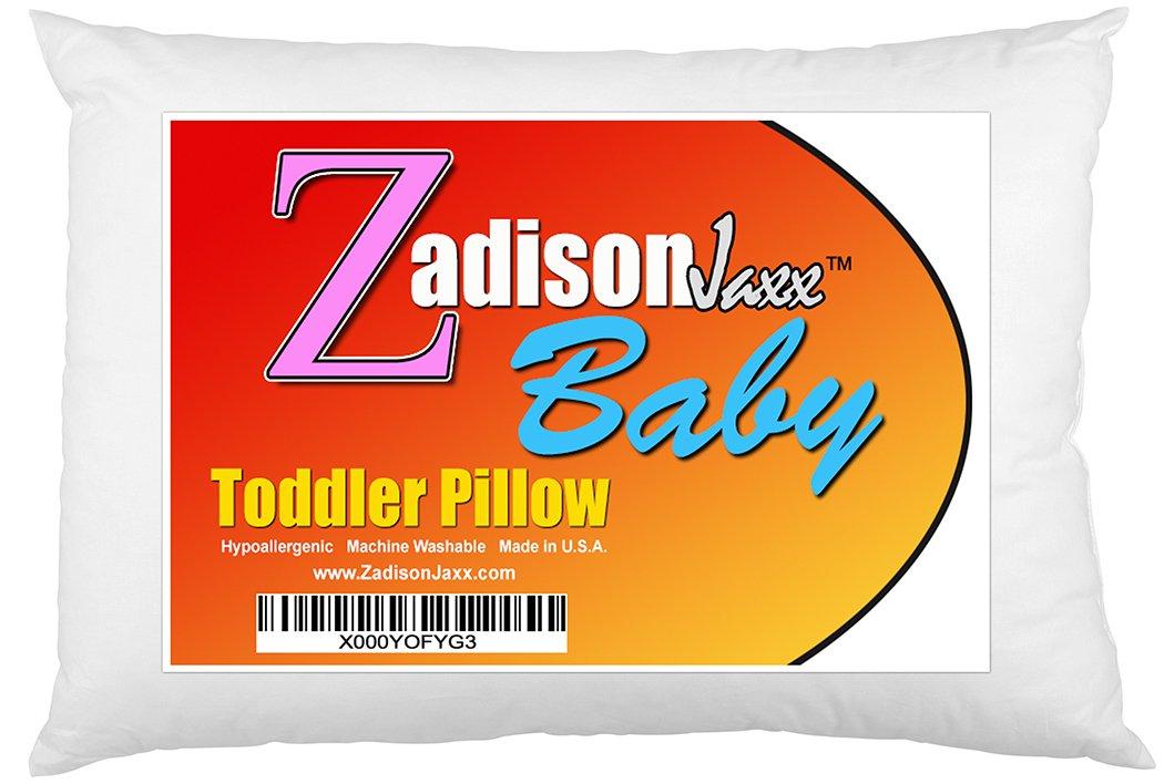 Toddler Pillow - Soft Hypoallergenic - 13x18 - Machine Washable