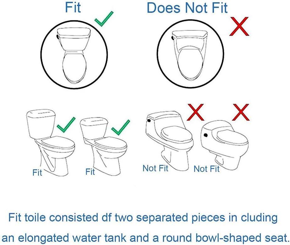 Butt Cleaner Jet deau Froide Unique Buse Non /électrique Pulv/érisation Autonettoyante avec Contr/ôle de Pression D/étachable WC Insert de Bidet Ketamyy Bidet M/écanique pour Toilettes Assis