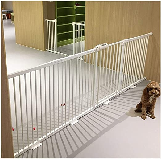 Amazon Co Jp Door Child Safety Gate Door Pet Door Guard Rail Stair Handrail Separation Pressure Mount Telescopic Baby Elevating Fence Kitchen Fence Color White H78cm Width Size 195 204cm Home Kitchen