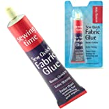 Fabric Glue - Sew Quick - Bonds Quickly Very Strong - Easy Than Sewing For Hemming & Repairs