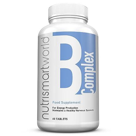 Complejo de Vitamina B - 60 Comprimidos (Suministro para 2 meses) - Contiene Ocho
