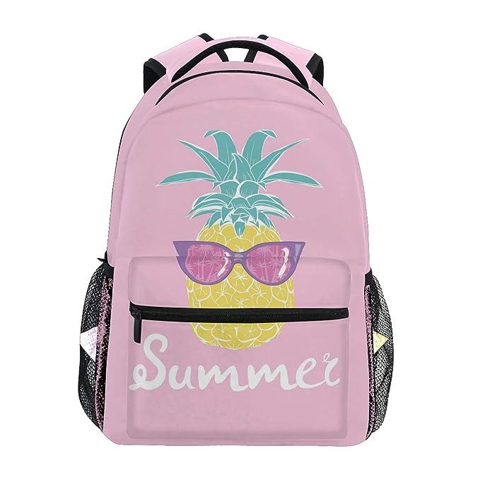 d5dc8a0e8f59 Amazon.com: ZZAEO Summer Pineapple Sunglasses Backpack Bag ...