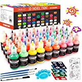 Fabric Paint Set, Shuttle Art 45 Colors 3D