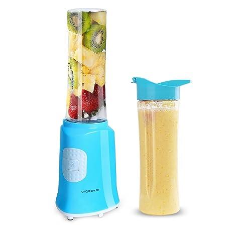 Aigostar Sky 30IWX - Batidora de vaso portátil para smoothies, batidos y picadora de frutas