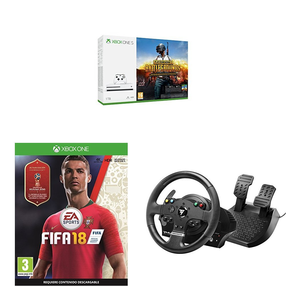 Xbox One S - Consola 1 TB + Playerunknowns Battlegrounds + FIFA ...