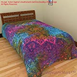 Modern Cotton Single Bedsheet Bedspread Bedcover Tapestry Tapestries Wall Hanging Beach Throw Table Ta508