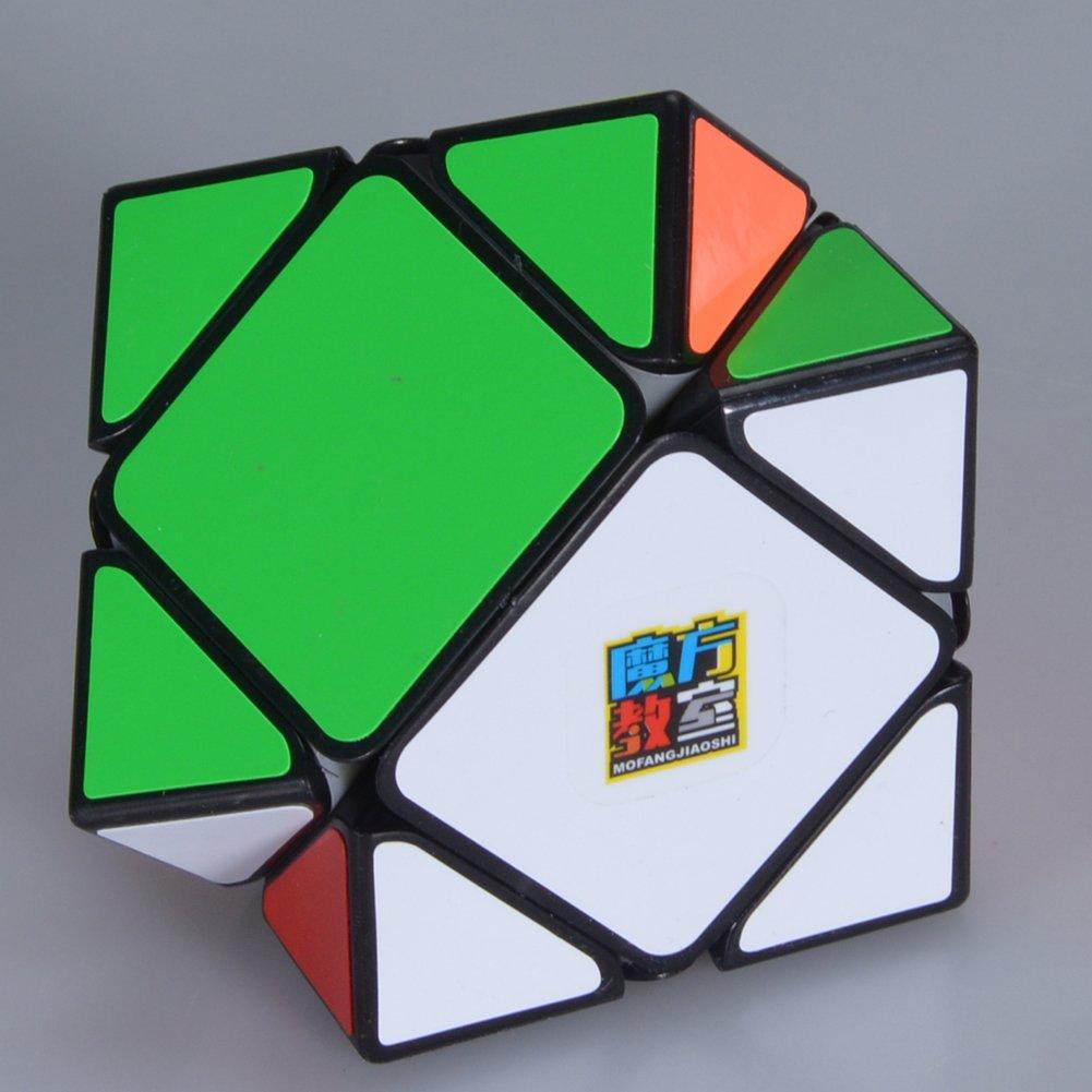 Faironly Skewb Twisty Speed Cube Inteligencia Juguetes Rompecabezas m/ágico Cubo para Principiantes a experimentados Cuberos