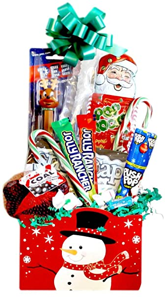 Amazon.com : Christmas Candy Gift Basket : Gourmet Candy Gifts ...