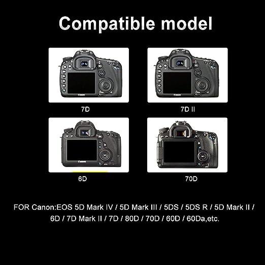 Palo LP-E6 Digital réflex de baterías para cámara Canon Serie ...
