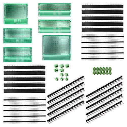 ALLDREI 100 Pcs Double Sided PCB Board Prototype