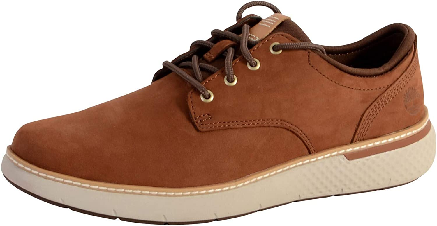 TALLA 44.5 EU. Zapato Timberland CA1TSH Cross Mark Oxford COGNA