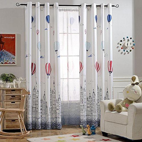 Melodieux Balloon Filtering Curtains Children