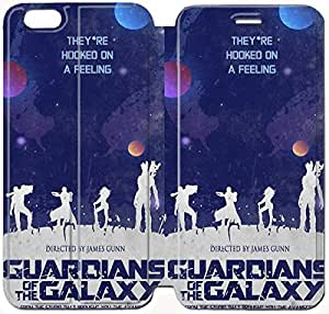 Fashion Style Guardians Of The Galaxy Phone case Thin Slim Flip Leather Case Cover For iPhone 6 plus 5.5 inch OOL2956594