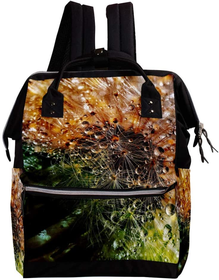 Indimization Dandelion Casual Daypack Leather Backpacks,Fashion Travel School Bag,College Student Bags for Boys /& Girls Holds 27x19.8x36.5cm//10.6x7.8x14in
