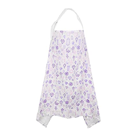 a8081463ebe84 MChoice Women's Aby Breastfeeding Cover Mum Cotton Nursing Udder Apron Shawl  Cloth Size:106 * 77cm/41.7