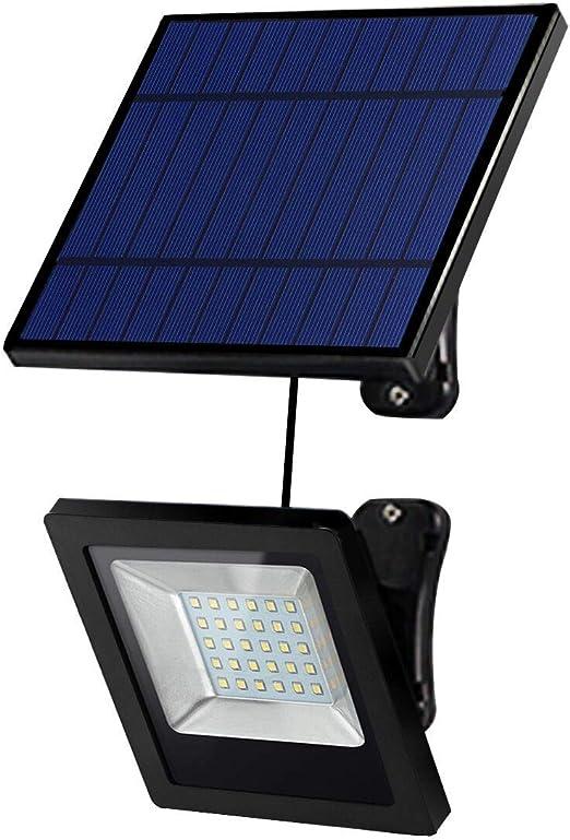 Foco Solar Exterior, Lampara Solar para Jardins, Cable de ...