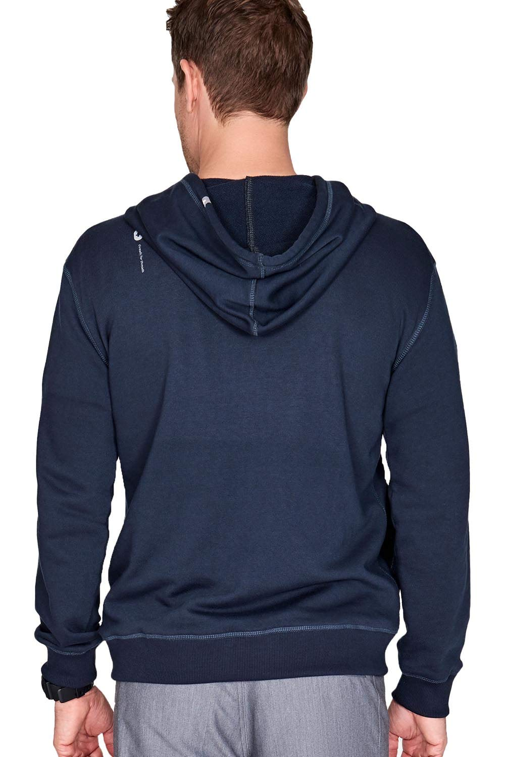 FIGS Bobi Hoodie for Men Super Soft with Ribbed Cuff Sleeve /& Bottom Band Relaxed Fit Plain Activewear Pullover Hoodie