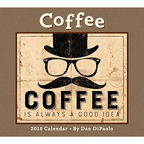 Coffee 2018 Deluxe Wall Calendar