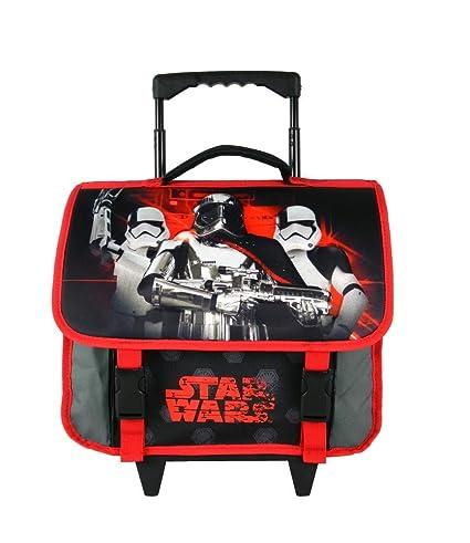 Bagtrotter Star Wars - Maleta infantil (38 cm), color negro ...