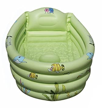 intime inflatable baby bath tub baby children shower tub for 03 years