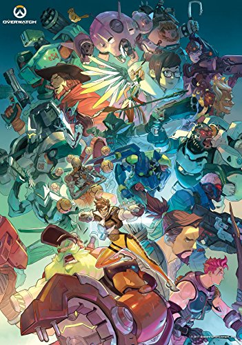 Trends International 8.25x11.75 MDF - Overwatch - Ultimate Wall Poster, 8.25' x 11.75', Multicolor