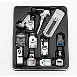 Prensatelas Accesorios para Máquina de coser Matefielduk 11pcs / set Kit de pie de prensatelas de máquina de coser…