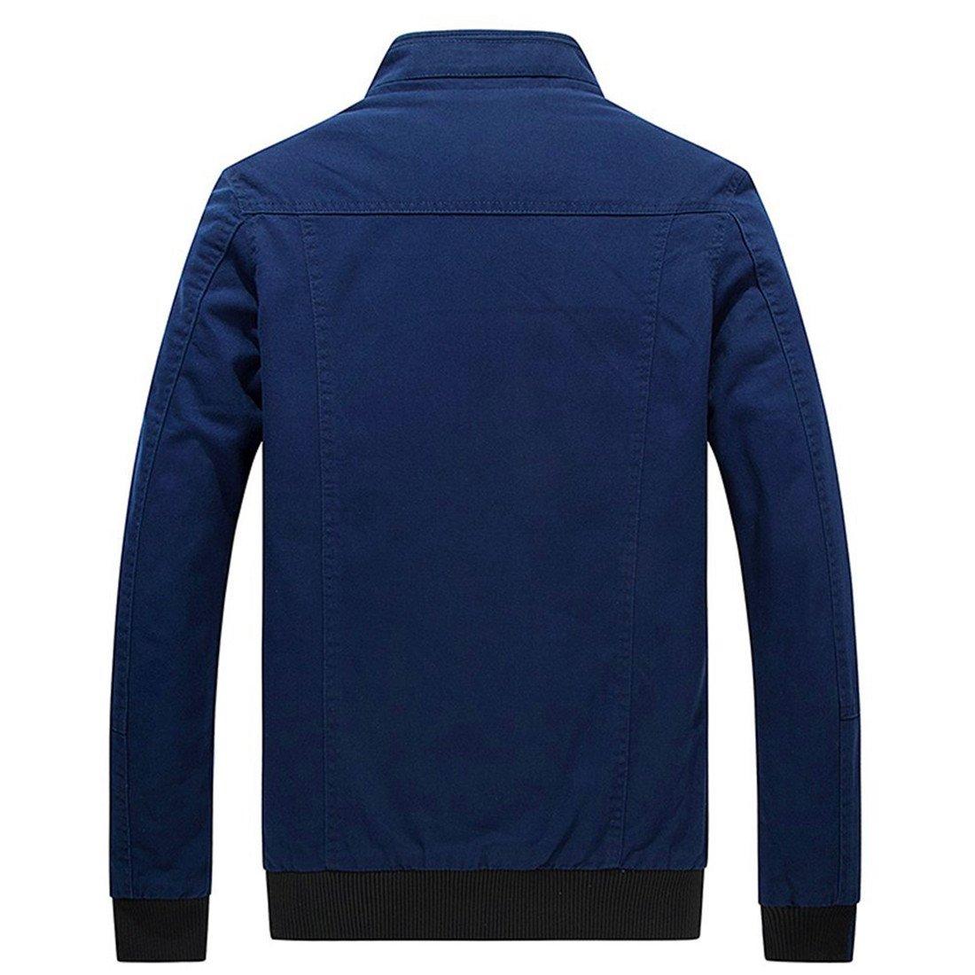 smille Warmer Mens Fur Hood Down Padded Coat Collar Jacket Thick Winter Coat