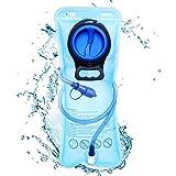Aodoor Sacca Idratazione, 2 litri Sacchetto dell'Acqua Capacità Water Bladder Portatile Sistema di Idratazione per Ciclismo, Escursionismo, Camminata