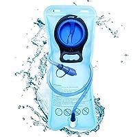 Aodoor 2 Liter Trinkblase, Wasserblase mit Schlauch Wasserblase, Hydration Bladder, Sport Wasser Blasen Ideal für Outdoor-Radfahren,Camping, Walking