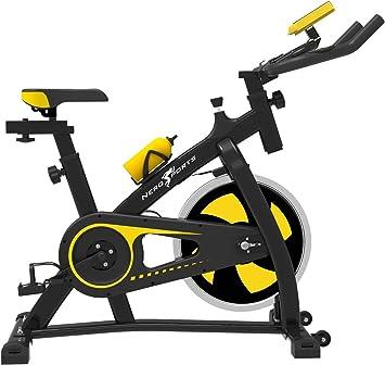 Puok - Bicicleta estática con Bluetooth, para interior y estudio ...