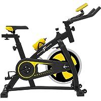 Puok - Bicicleta estática con Bluetooth, para interior y estudio, para entrenamiento aeróbico