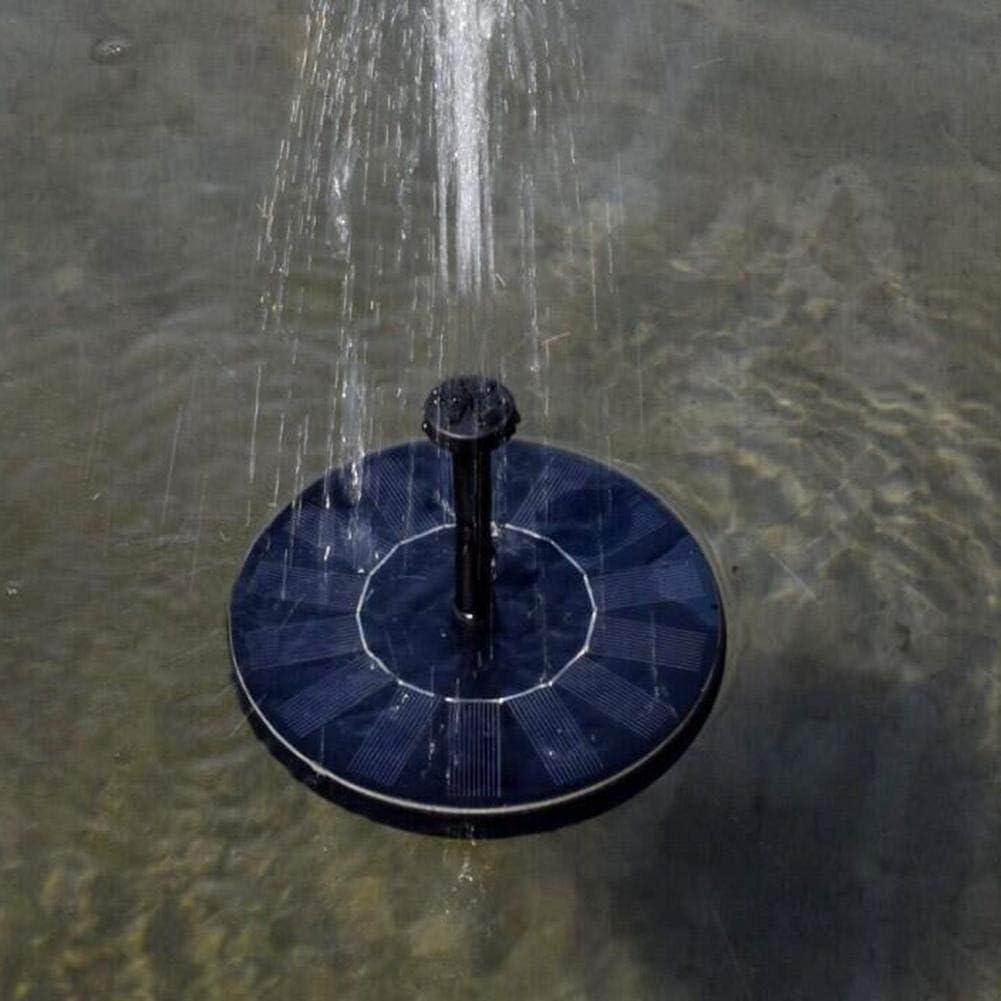 Kit submersible pour bain doiseaux//d/écoration de jardin Noir Pompe solaire fontaine /à panneau flottant pour bassin de jardin