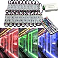 EAGWELL 20 Ft Storefront 40 Pieces RGB 5050 LED Light module ,2 Set 5050 SMD 120 LED Module STORE FRONT Window Sign Strip Light