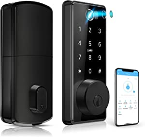 Keyless Entry Door Lock,Keypad Entry Door Lock,Fingerprint Door Lock,Keypad Deadbolt Lock,Smart Lock Front Door,Automatic Door Lock,Biometric Door Lock,Digital Door Lock by CIVIGEM